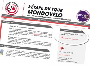 Le site officiel de l'étape du Tour 2010
