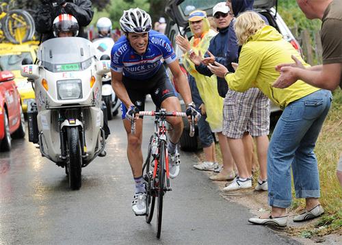 Sylvain Chavanel en route vers le maillot jaune