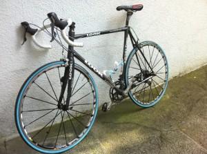 Mon vélo Look KG 381 Team, le même que Jalabert !