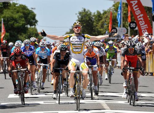 André Greipel, grand favoris du Tour Down Under