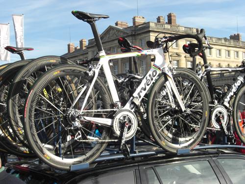 Le vélo de Thor Hushovd pour Paris-Roubaix 2011