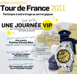 Gagnez une journée VIP sur le Tour de France