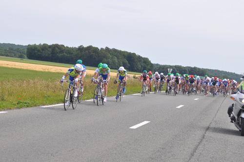 Le peloton reste groupé aux Routes de l'Oise 2011