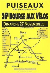 La 27ème bourse aux vélos de Puiseaux
