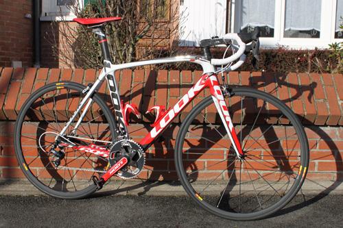 Mon nouveau vélo Look 695 SR Team Replica