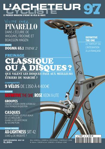 Le magazine l'Acheteur Cycliste