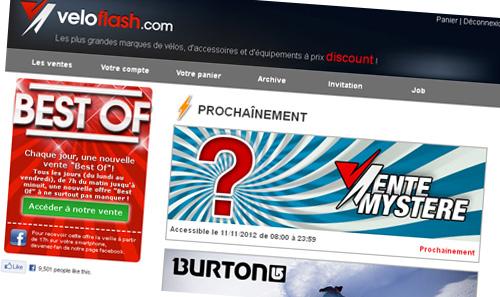 Vélo Flash, site de ventes privées de vélos