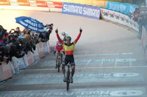 Victoire de Sven Nys en Coupe du Monde à Roubaix