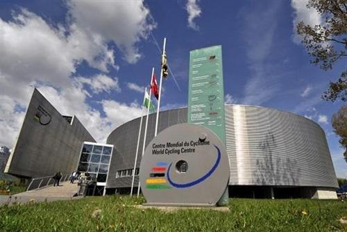 Le siège de l'UCI à Aigle en Suisse