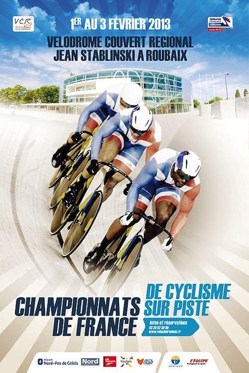 Championnats de France sur piste 2013