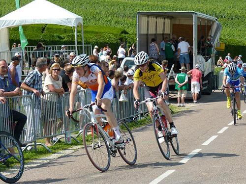 Dernier tour championnat de France Ufolep à Montgueux