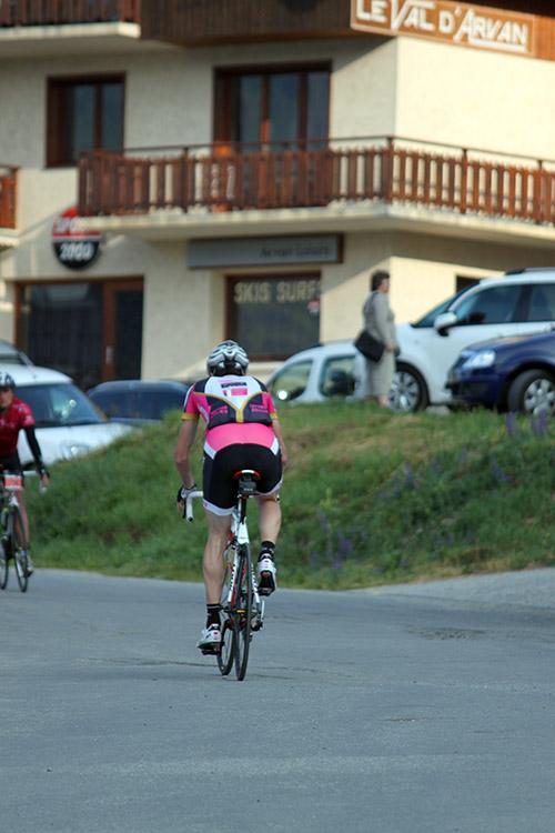 Au départ de l'Arvand-Villards