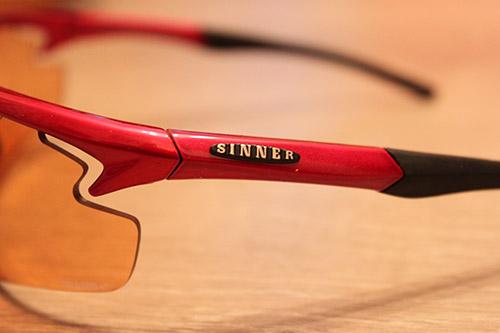 La marque de lunettes de soleil Sinner