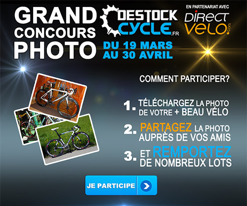 Concours photo Destock-cycle