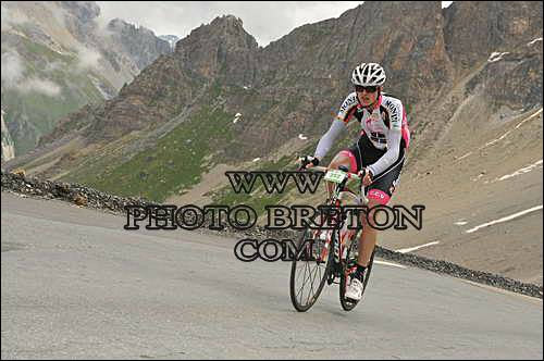 Dans la montée du Glandon sur la Marmotte 2014