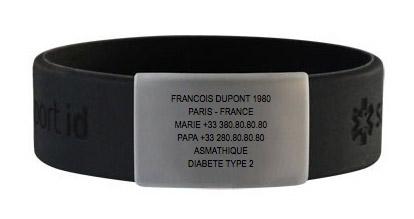 Le bracelet Safesport ID peut vous sauver la vie !