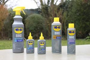 Voici l'ensemble de la gamme WD40 Bike !
