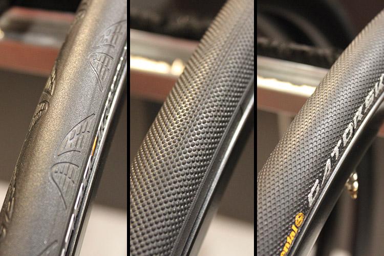 La gamme de pneus vélo Continental