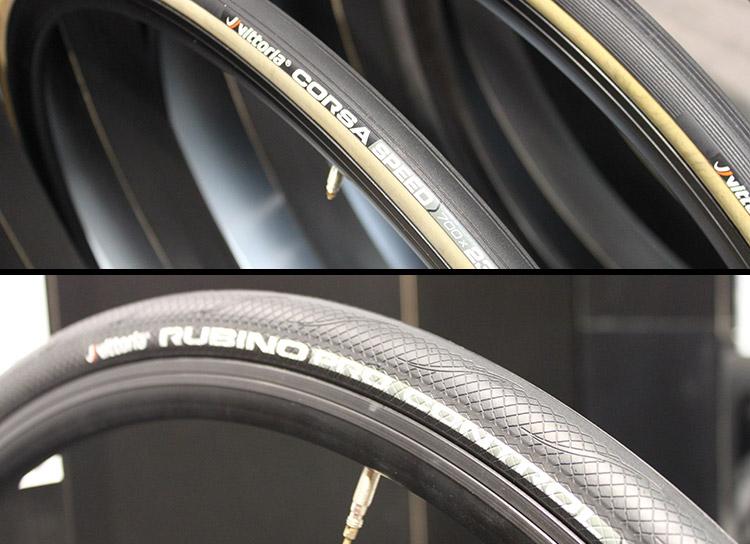 Les nouveaux pneus Vittoria Corsa Speed et Rubino Pro Speed