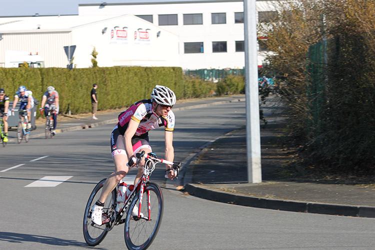 Une course réussie à Seclin en 2014...