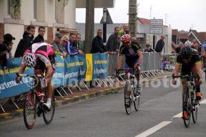 Fabrice s'impose au sprint à Linselles