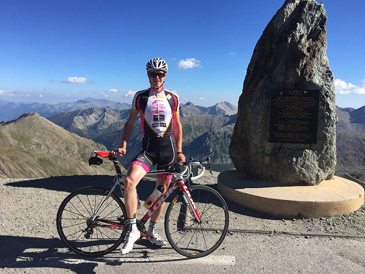 Au sommet de la Cime de la Bonette à l'été 2016...