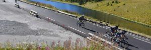 La descente du Col de Vars sur la Haute Route...