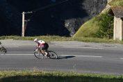 Dans la descente du Lautaret sur la Haute Route Alpes 2017