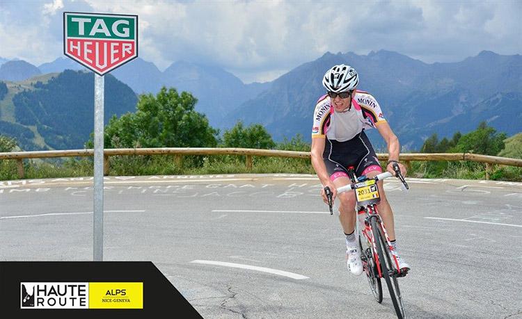 A bloc dans le contre-la-montre de l'Alpe d'Huez...