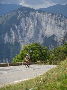 Des paysages somptueux dans l'Alpe d'Huez...