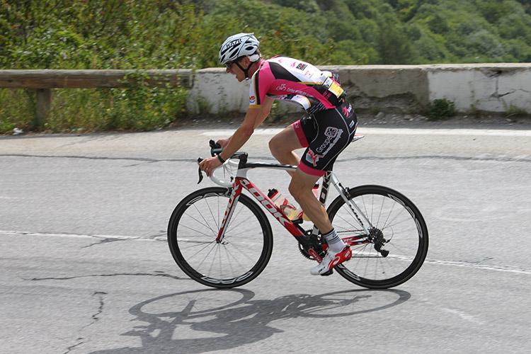 La montée de l'Alpe d'Huez en contre-la-montre sur la Haute Route 2017