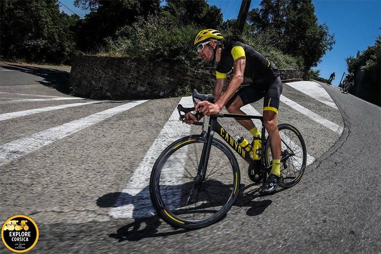 Nicolas Roux, vainqueur de la première édition d'Explore Corsica