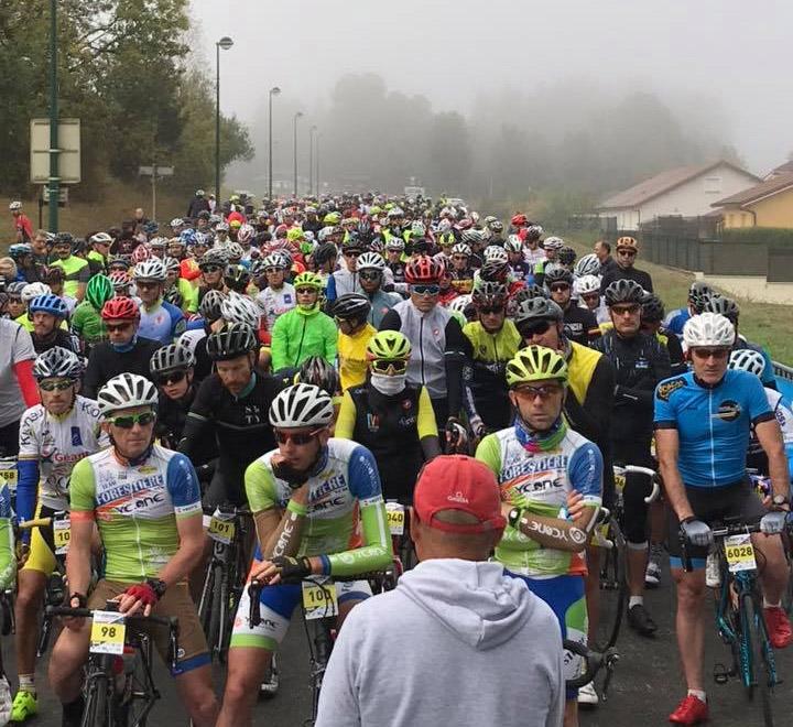 Départ de la Forestière Cyclo 2018