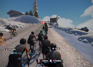 La Haute Route Watopia, une course par étape montagneuse virtuelle...